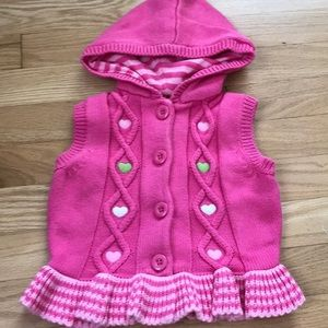 Gymboree Hooded Vest